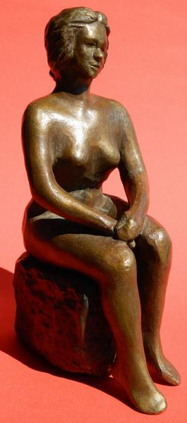 Nur Ulubil Teknik : Bronz - heykel