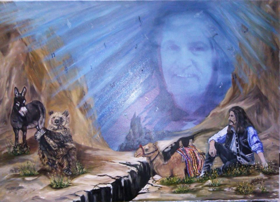 Barış ve Şarkıları Teknik:Tuval Üzeri Yağlı Boya Ölçü:50x70 cm Fiyat 750 TL
