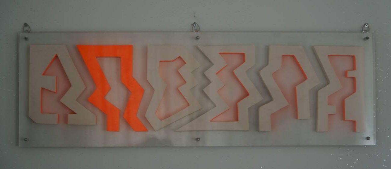 Teknik:Seramik Ölçü:90x30x4