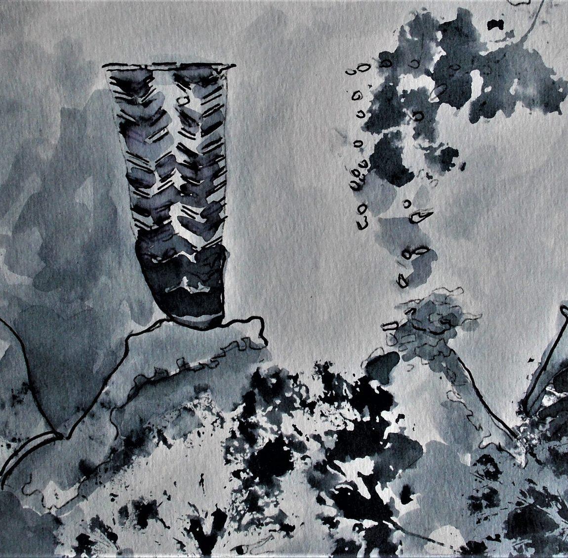 Hitit Ana Tanrıça Figürü ( Kubapa ) Teknik: Karışık Teknik Ölçü:18 x 41 cm Fiyatı: 1000 TL