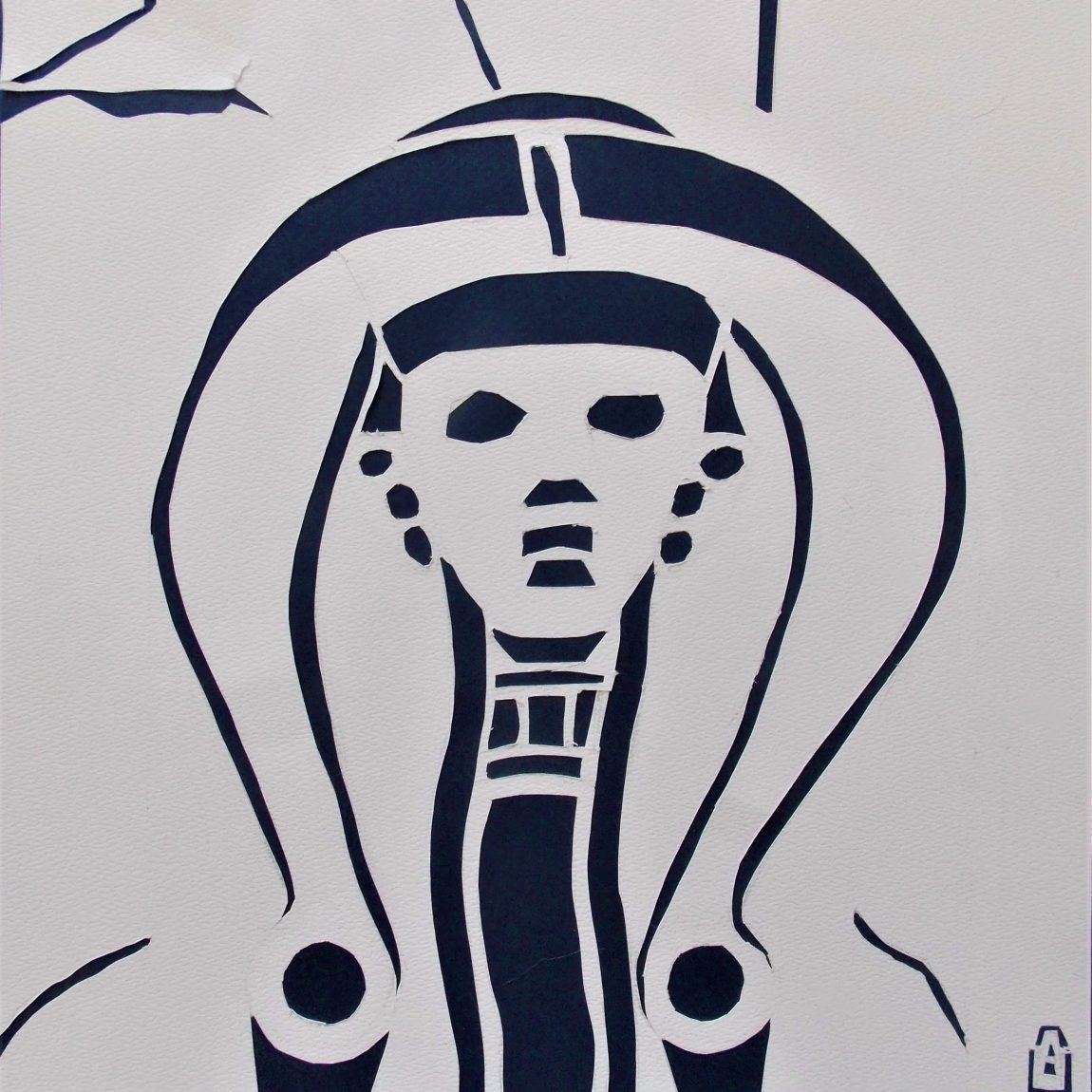 Hitit Sfenks Başı Teknik: Katı Sanatı Tekniği Ölçü: 28 x 28 cm Fiyatı: 350 TL