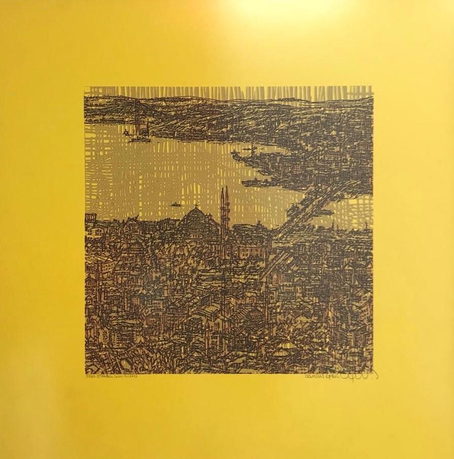 Devrim Erbil Teknik: Baskı Ölçü: 50x50 cm  Fiyat:3000 TL