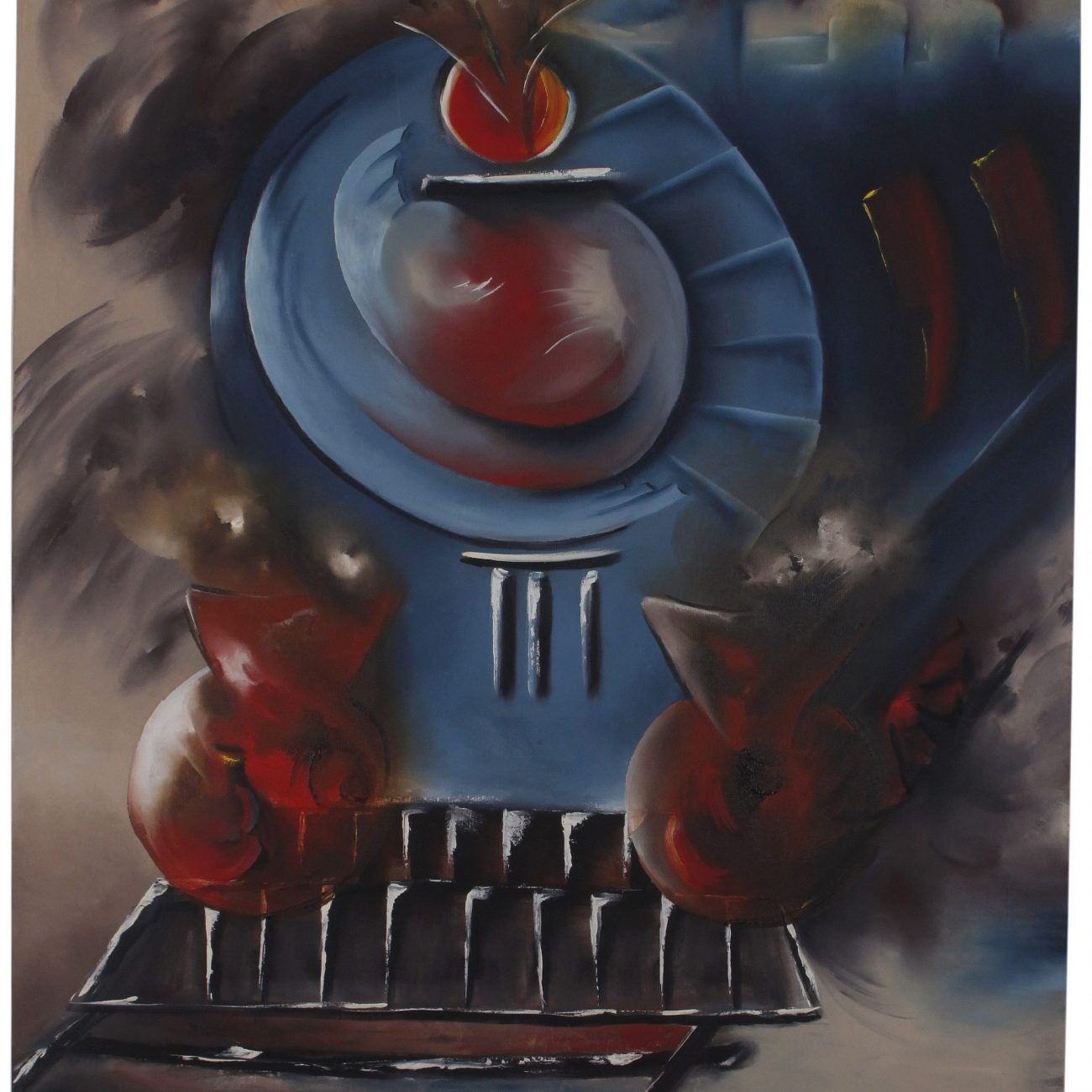 Teknik:: Tuval Üzeri Yağlı Boya  Ölçü: 90 x 100 cm  Fiyat : 1200 TL