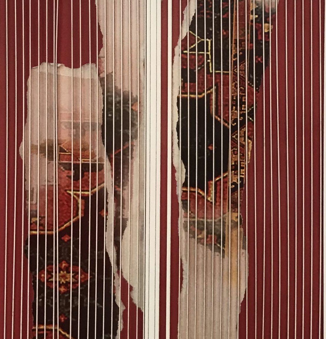 Nurcan Perdahçı Teknik:Karışık Teknik Ölçü: 45x20 cm  Koleksiyon