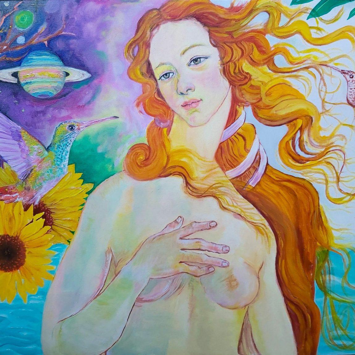 İpekchi Birds of Venus Teknik:Kanvas Kağıdı Üzeri Yağlı Boya Ölçü:65x50 cm  Fiyat :3.304 TL