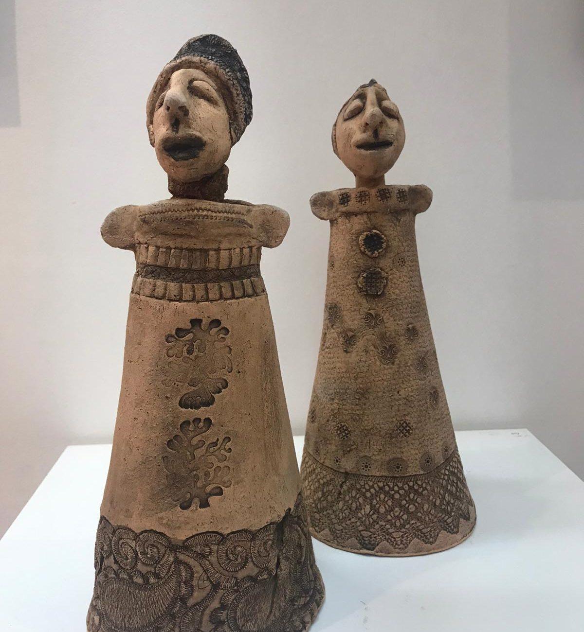Ümit Z.Bayındır Gezgin Teknik:Seramik - heykel Birim Fiyat:2.065 TL