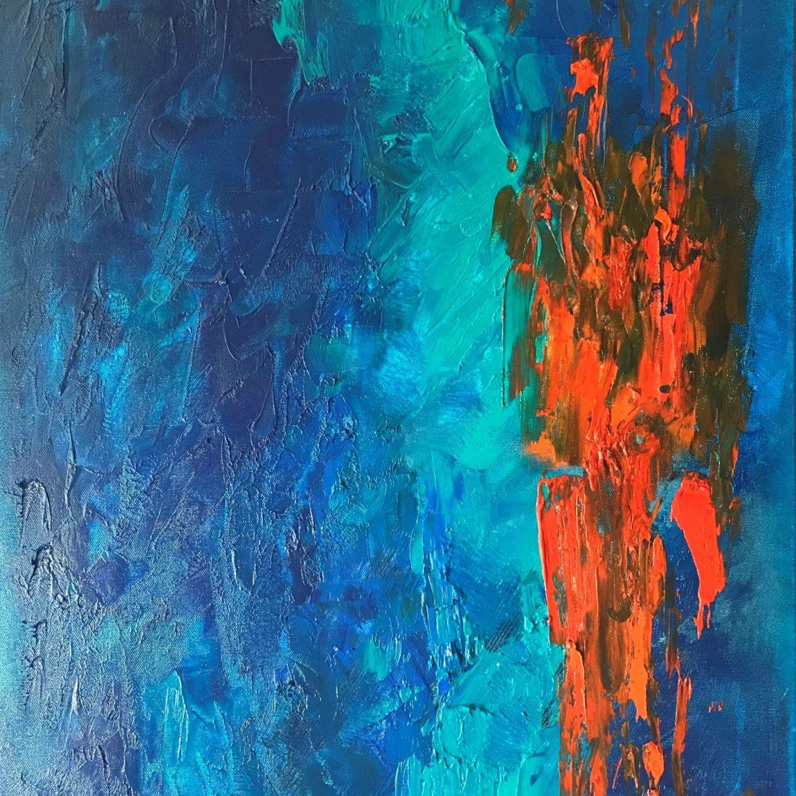 AYDA TAVİL- Teknik: Tuval Üzeri Yağlı Boya Ölçü: 50x70 cm  Fiyat : 7.080 TL