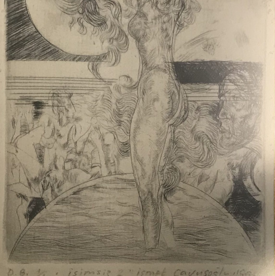 İsmet Çavuşoğlu  Teknik :Baskı  Ölçü : 12 x 16 cm  Fiyat : 885 TL