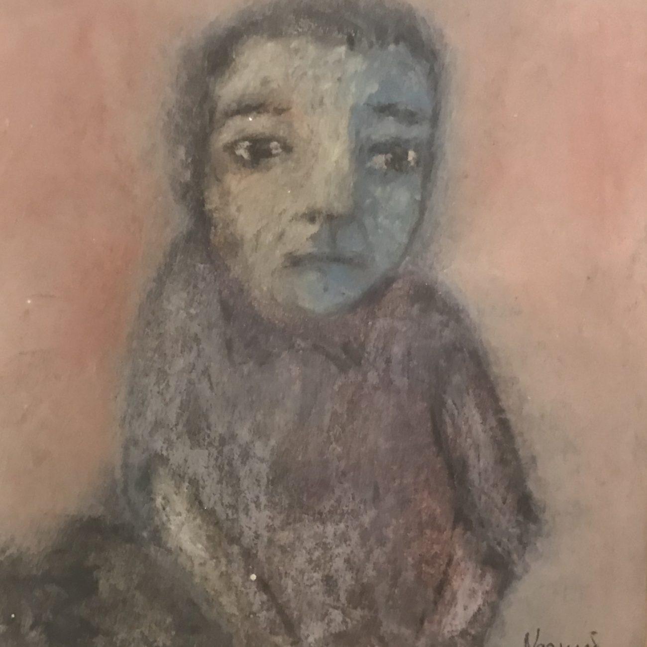 Nazmi Yılmaz  Teknik : Kağıt Üzeri Pastel Boya  Ölçü : 14 x 13 cm  Fiyat :1.180 TL
