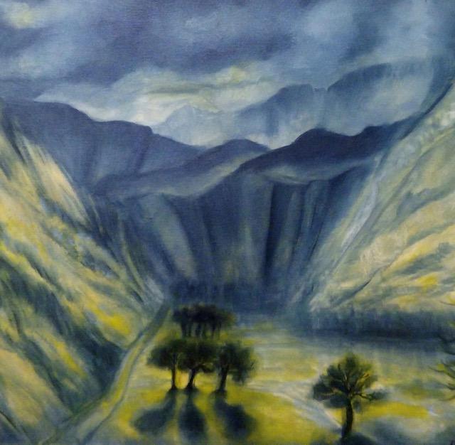 Aynur Yalçıner Sencan Teknik: Tuval Üzeri Yağlı Boya Ölçü: 50 x 70 cm