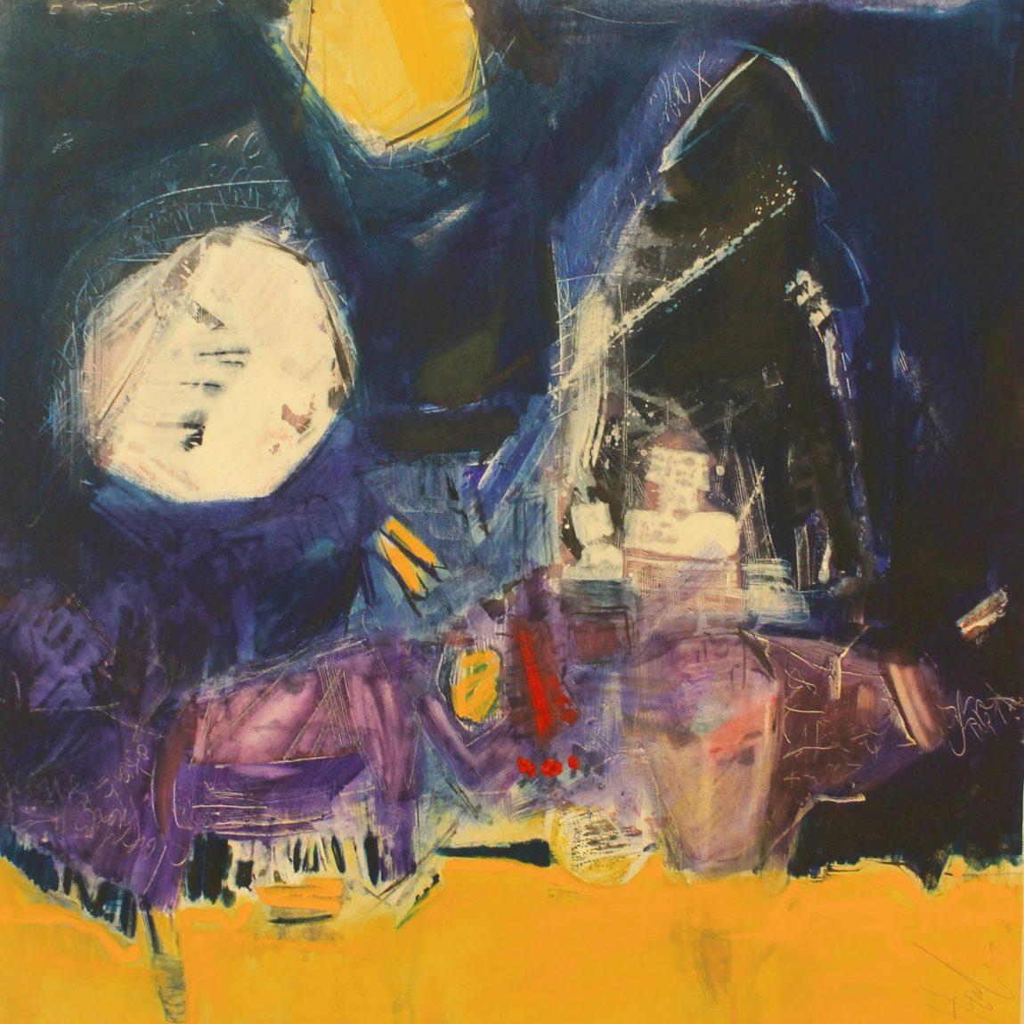 Eser Adı: Lost Identity-Teknik: Karışık Teknik Ölçü: 70 x 90 cm - Koleksiyon-