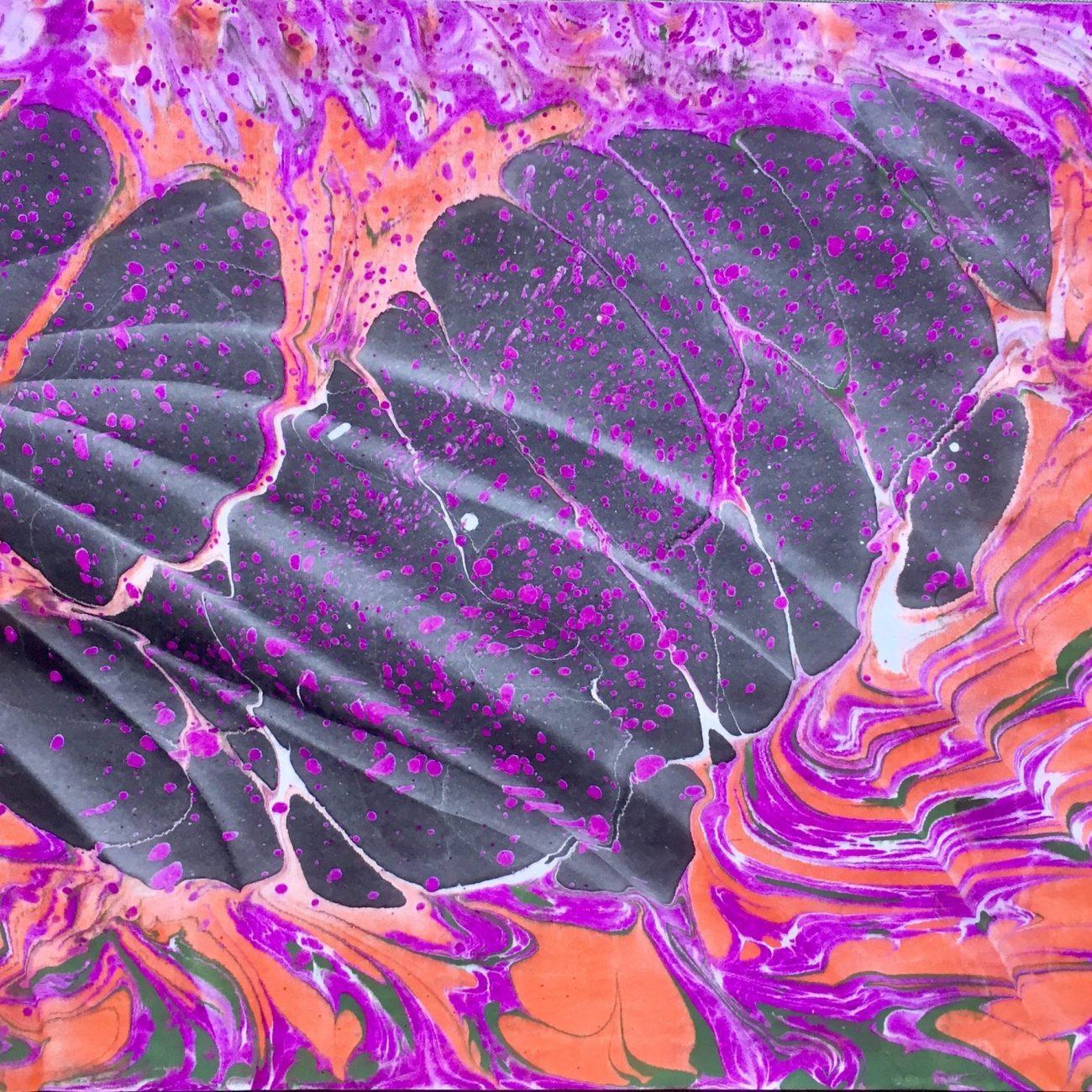 Butterfly-Teknik: Ebru Tekniği Ölçü: 35 x 50 cm  Fiyat : 1.500 TL