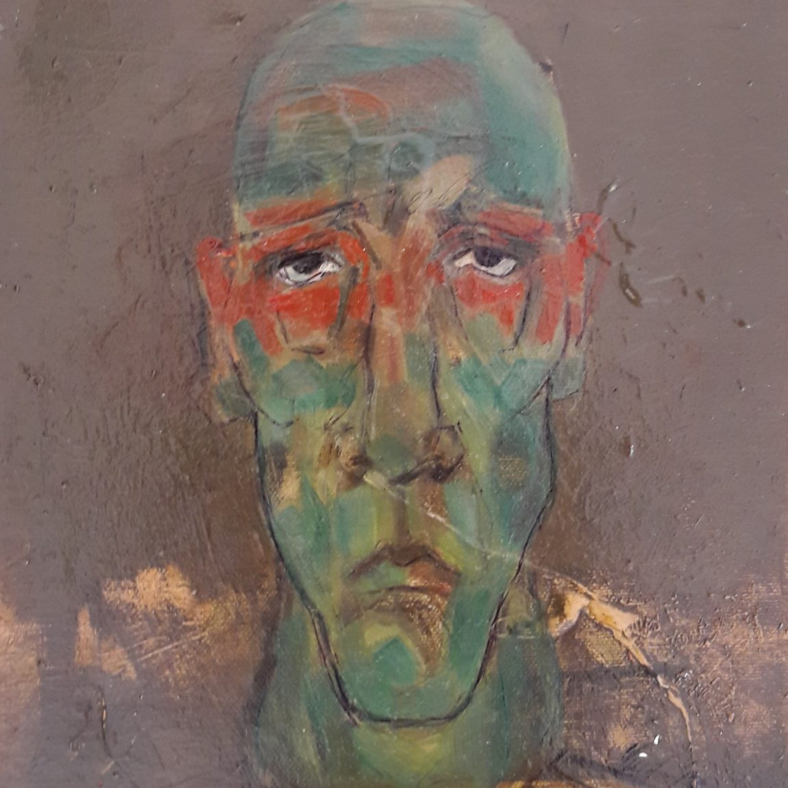 Teknik: Yağlı Boya Ölçü: 25 x 25 cm - Koleksiyon-