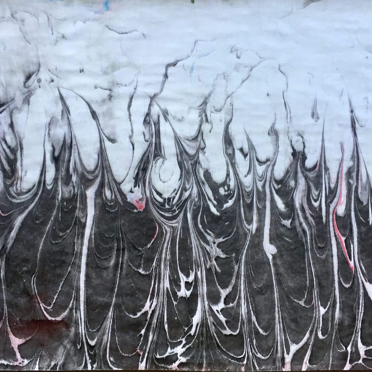 Roots-Teknik: Ebru Tekniği Ölçü: 35 x 50 cm  Fiyat : 1.500 TL