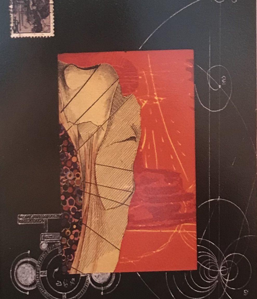Bernd Reichert - Teknik : Kağıt Üzeri Karışık Teknik - Ölçü : 14 x 17 cm - Fiyat : 590 TL