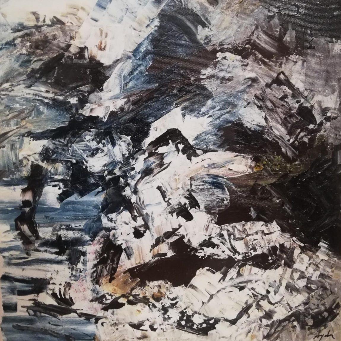 Ayda TAVİL - Teknik: Tuval Üzeri Yağlı Boya Ölçü: 30 x 30 cm Fiyat : 5.800 TL