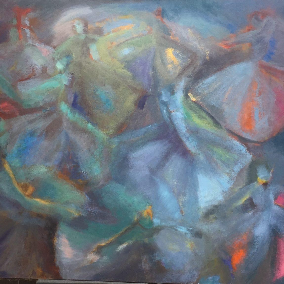 Semra Özümerzifon - Eser Adı : Sema Teknik: Tuval Üzeri Yağlı Boya Ölçü: 120 x 100 cm Fiyat : 16.000 TL