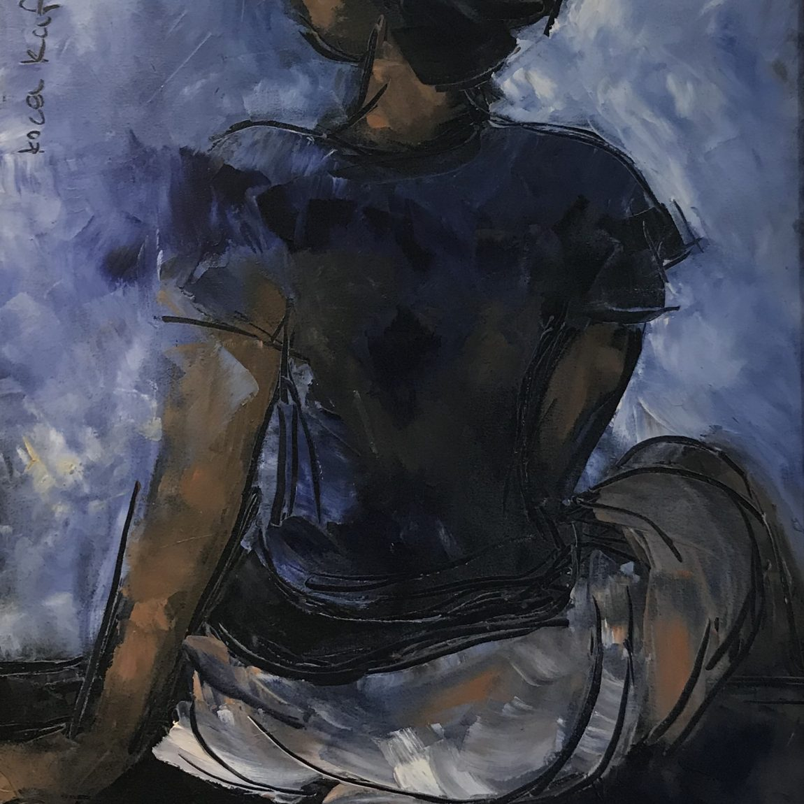 Nihal Şenlier- Teknik: Tuval Üzeri Yağlı Boya Ölçü: 65 x 83 - Fiyat : 8.260 TL