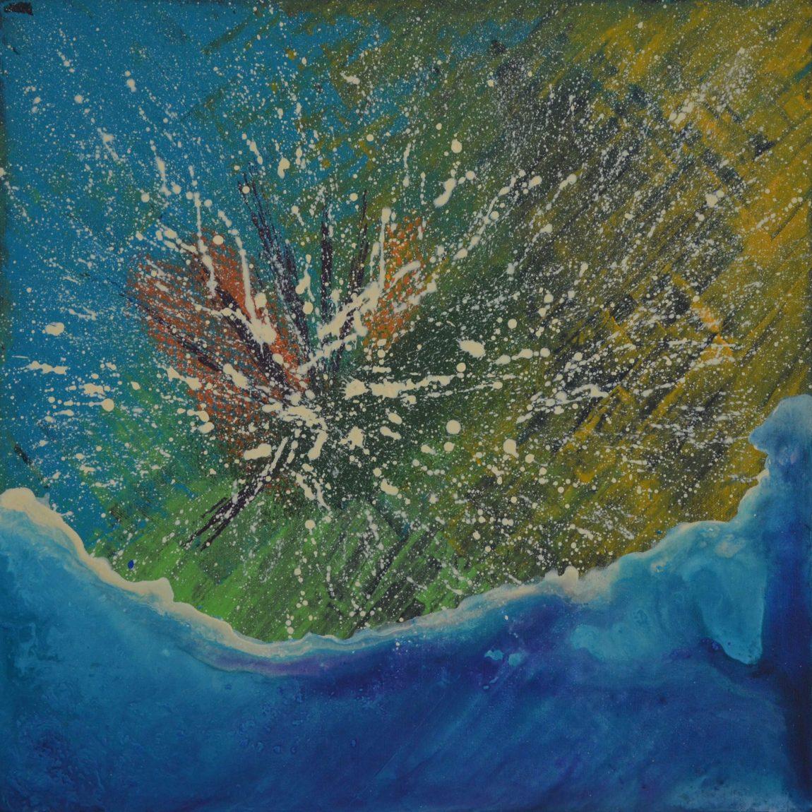 Şeyma Nur Irmak - Teknik: Tuval Üzeri Akrilik Ölçü: 50 x 50 cm Fiyat : 7.700 TL