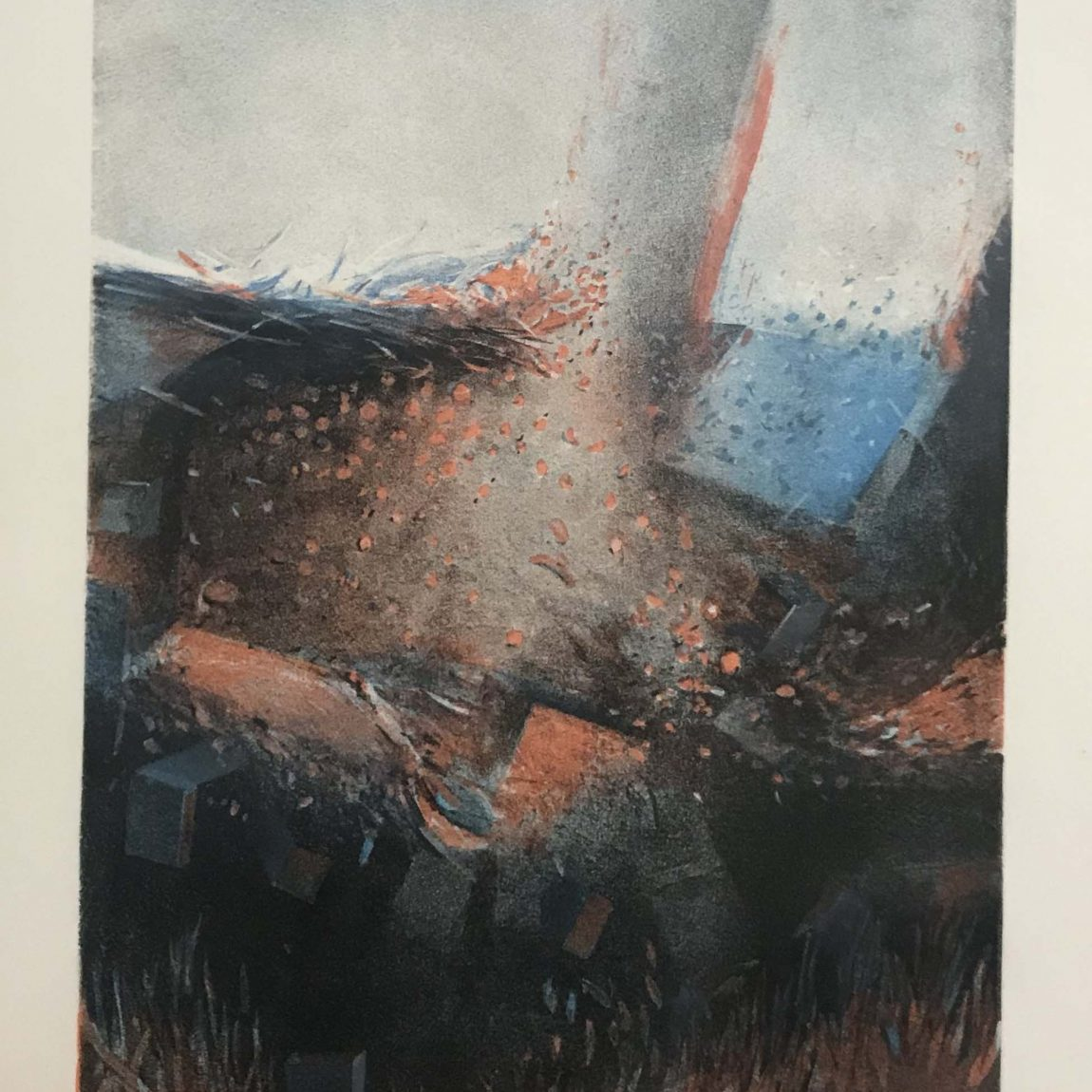 Atilla Atar - Teknik: Litografi Ölçü: 39 x 30 cm Fiyat : 4.200 TL