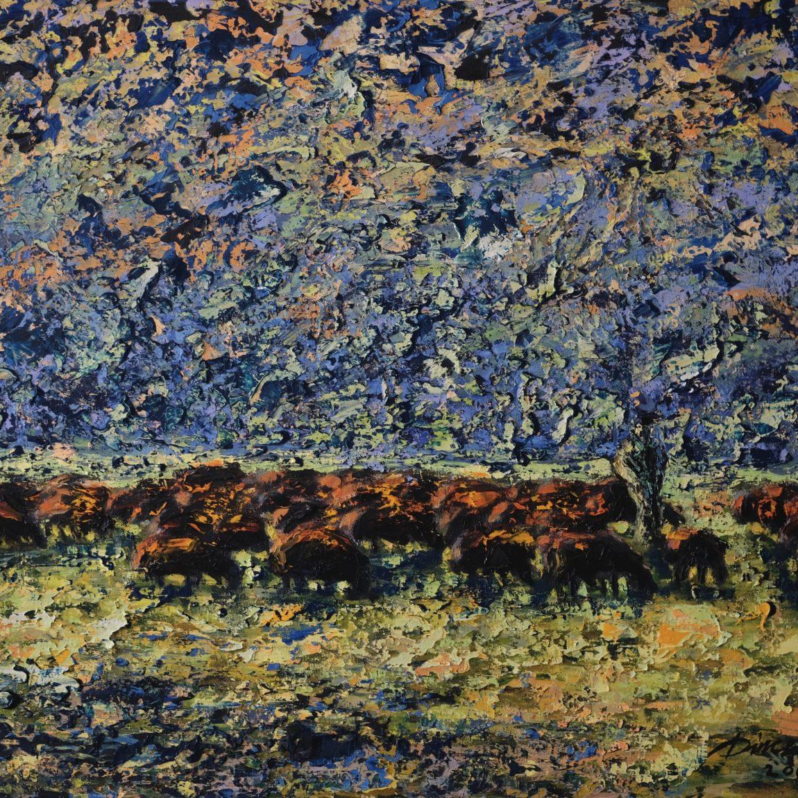 Teknik: Tuval Üzeri Yağlı Boya  Ölçü: 60 x 80 cm  Fiyat : 6.500 TL