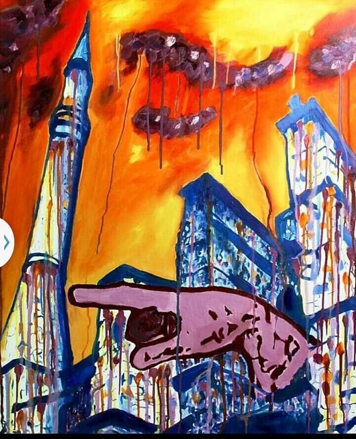 Sanatçı : Neslihan Kuyumcu  - Teknik: T.Ü. Yağlı Boya- Ölçü: 100 x 80 cm - Fiyat : 8.260 T