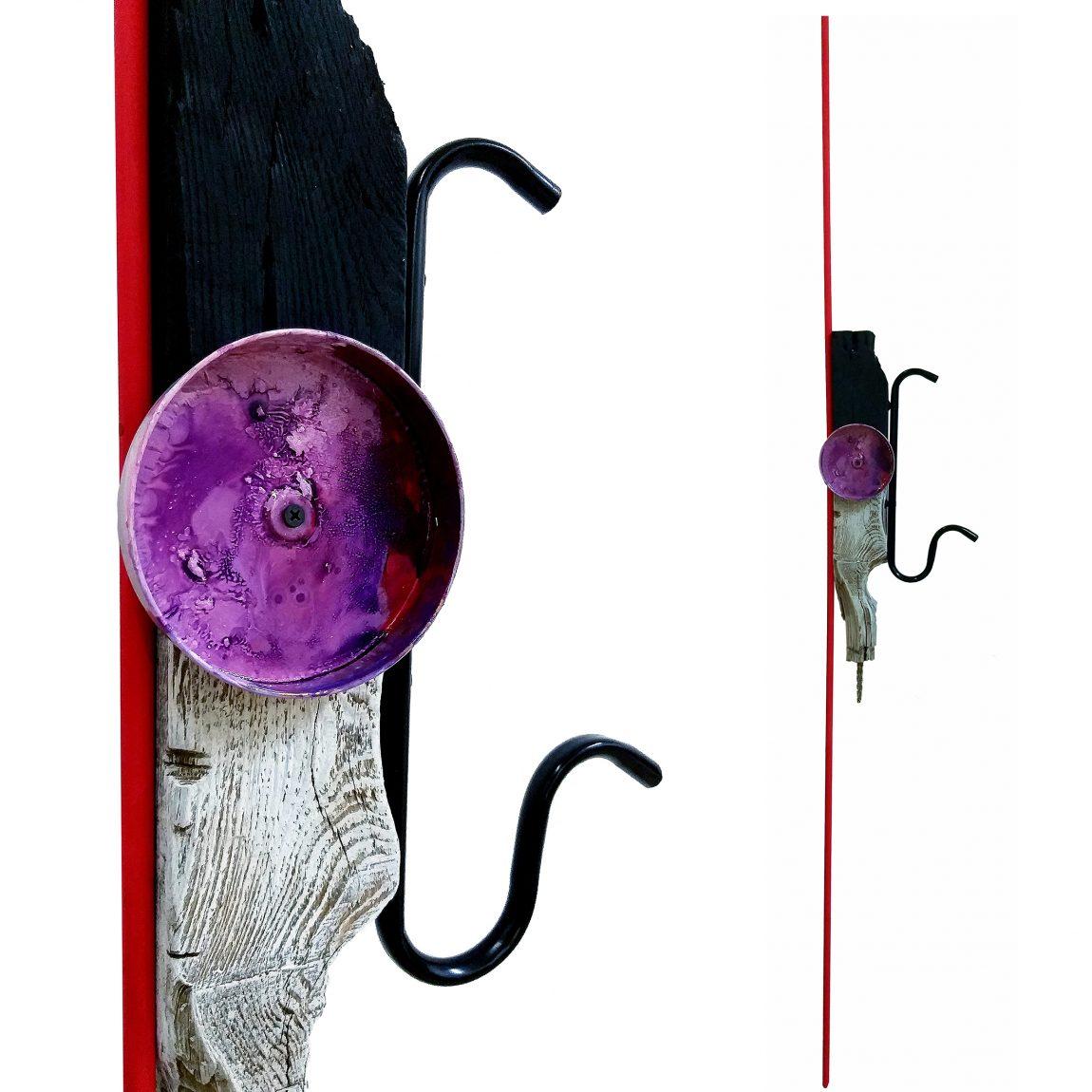 Sanatçı: Burak Boyraz Eser Adı: Argonotlar Teknik: Karışık Malzeme Ölçü: 150 x 27