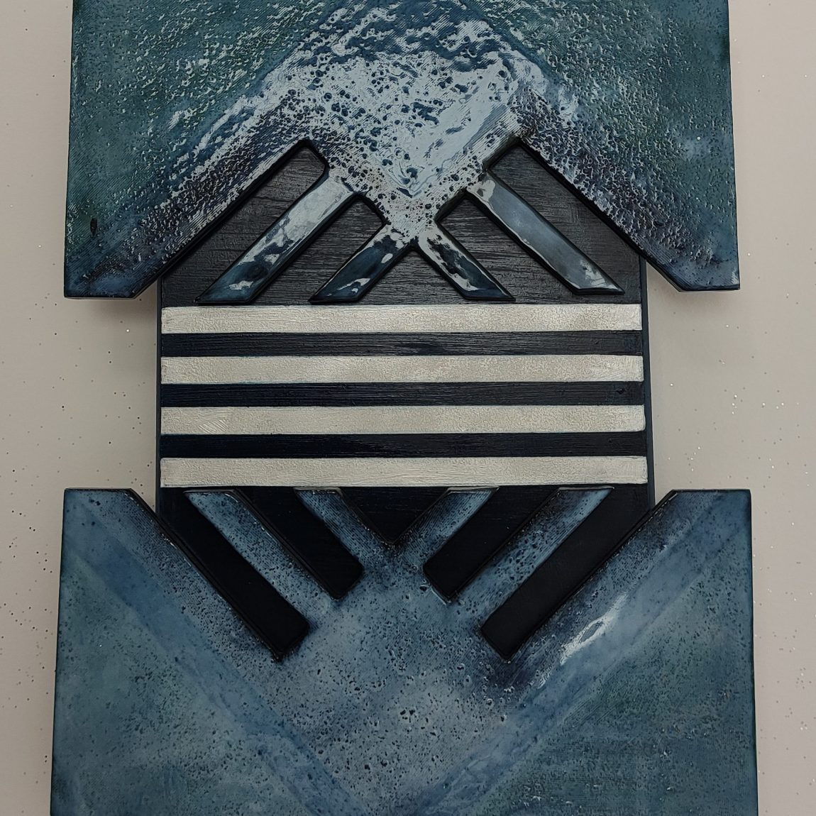 Sanatçı : Ayşen Dinç- - Eser Adı: Girift -  Teknik: Plaka - Ölçü: 35 x 50 cm  - Fiyat : 590 TL