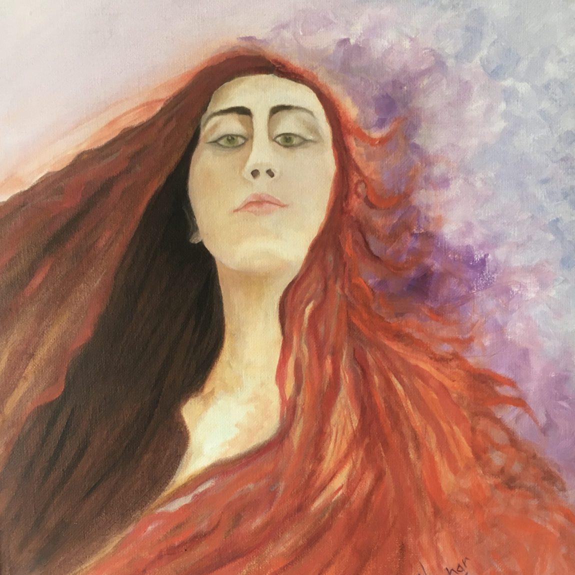 Sanatçı : Gülbahar Erdem  -  Eser Adı: A Lady  - Teknik: T.Ü. Yağlı Boya  - Ölçü: 62 x 70,5 cm-  Fiyat : 5.900  TL