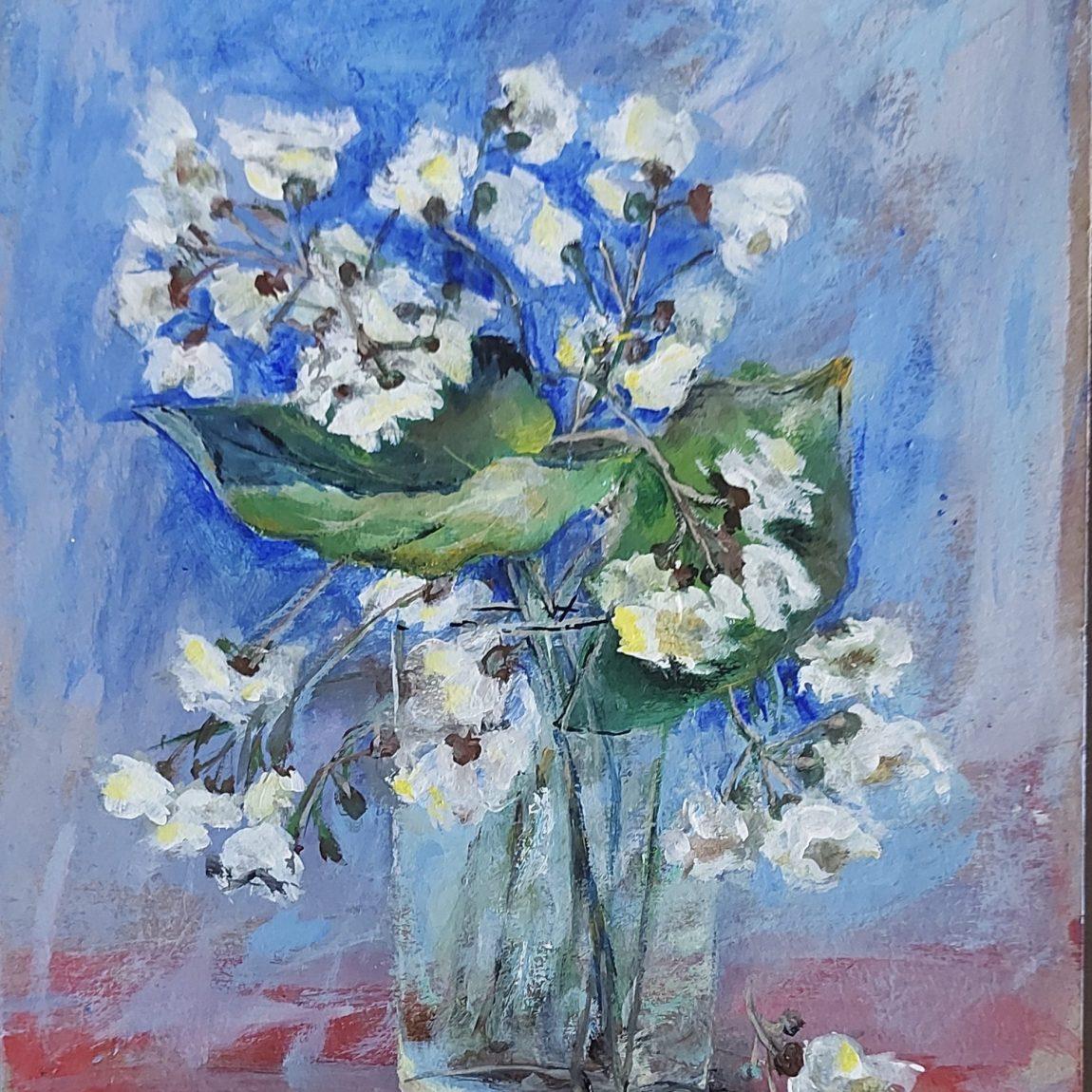 Sanatçı : Perihan Ata - Teknik: K.Ü. Akrilik- Ölçü:25 x 35 cm -  Fiyat : 1.770 TL