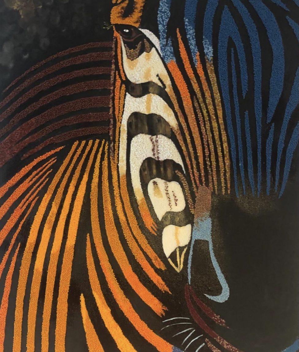 Sanatçı : Yıldız Evranoz- Teknik: Akrilik Üzeri Boncuk- Ölçü: 50 x 70 cm -  Fiyat : 8.260 TL
