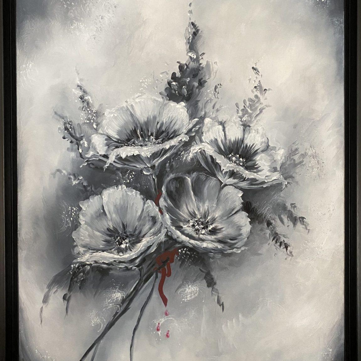Sanatçı : Linda Kumdagezer   - Eser Adı: Acı- Teknik: Yağlı Boya - Ölçü: 70 x 50 cm - Fiyat : 2.124 TL