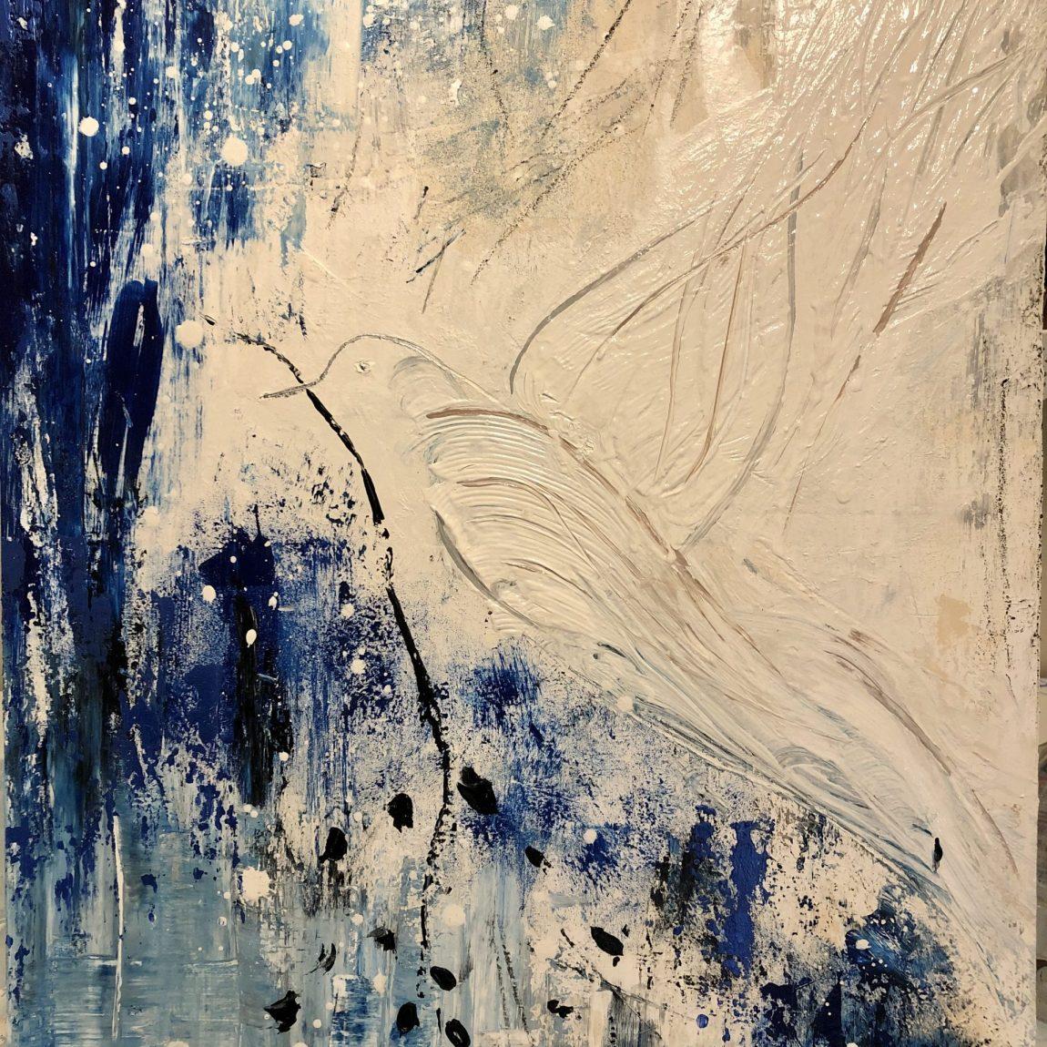 Sanatçı : Belma Bozkurt- - Eser Adı: Peace -  Teknik:  - Ölçü: 50 x 70 cm  - Fiyat : 1.950 TL