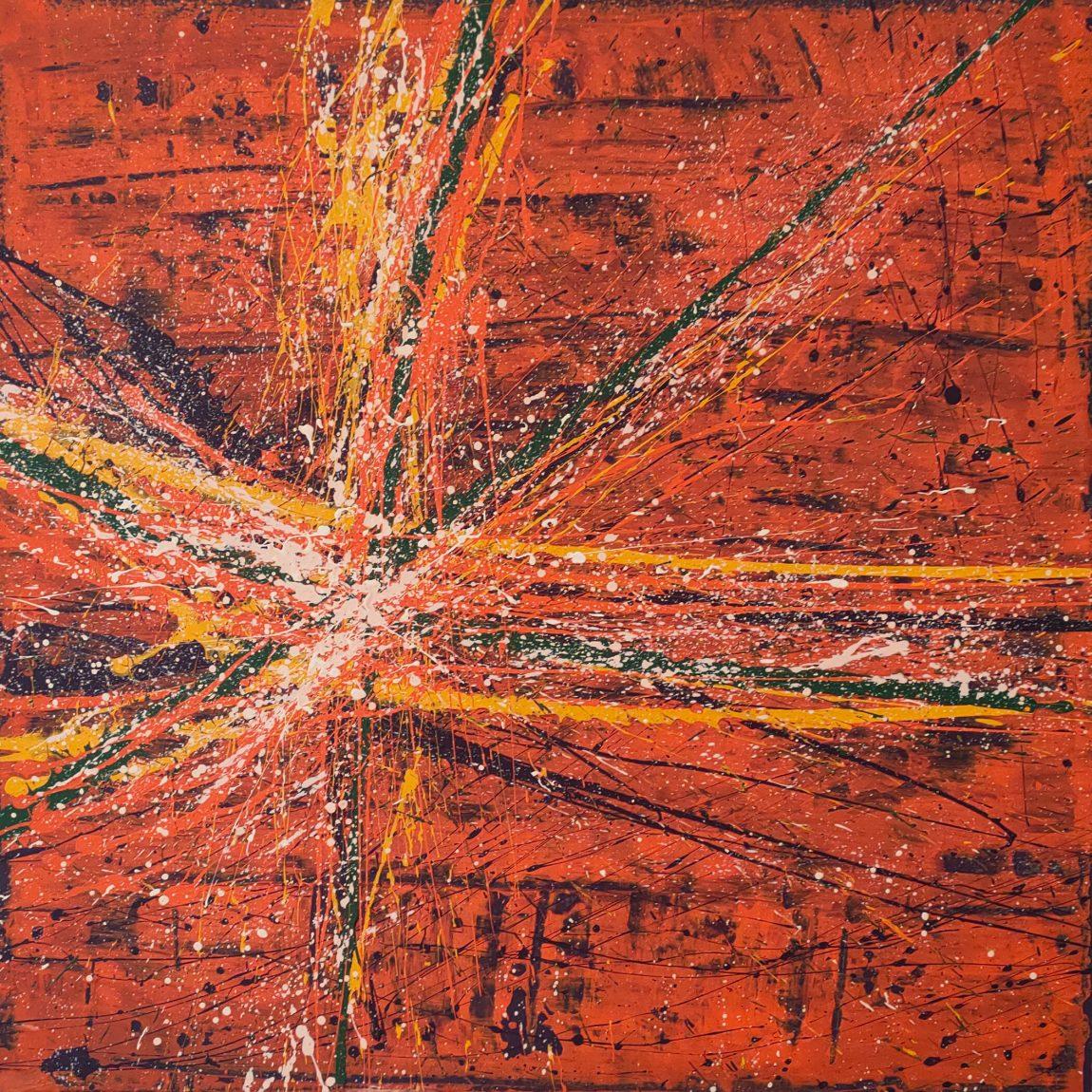 Sanatçı : Şeyma Nur Irmak- Teknik: T.Ü. Akrilik- Ölçü:50 x 50 cm -  Fiyat : 7.100 TL
