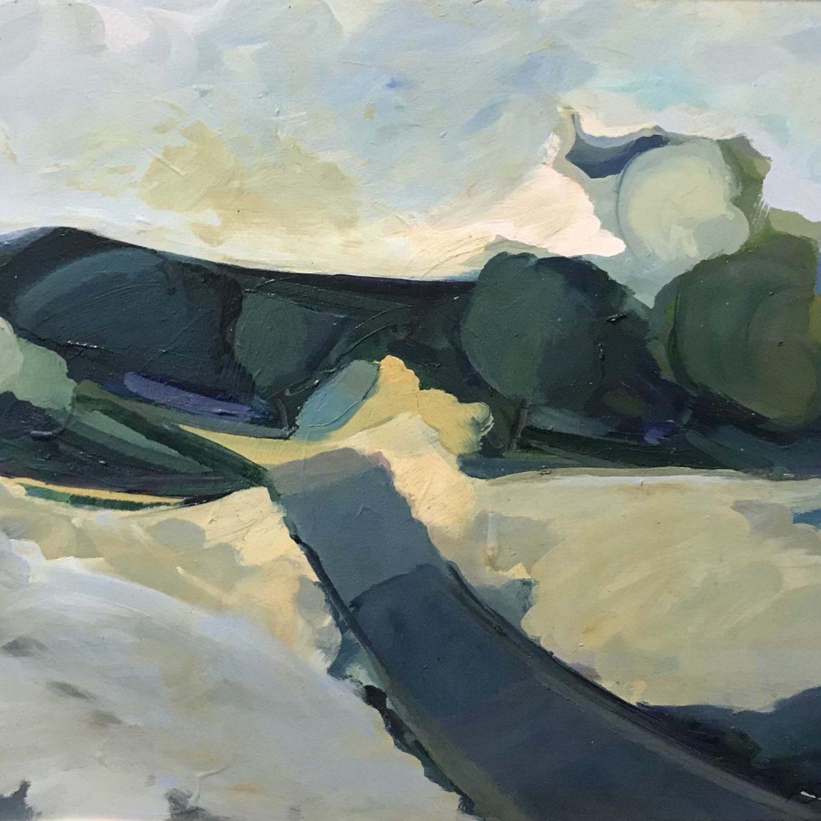 FATİH SARMANLI Teknik: Tuval Üzeri Yağlı Boya Ölçü: 55 x 45 cm - Fiyat: 14.160 TL