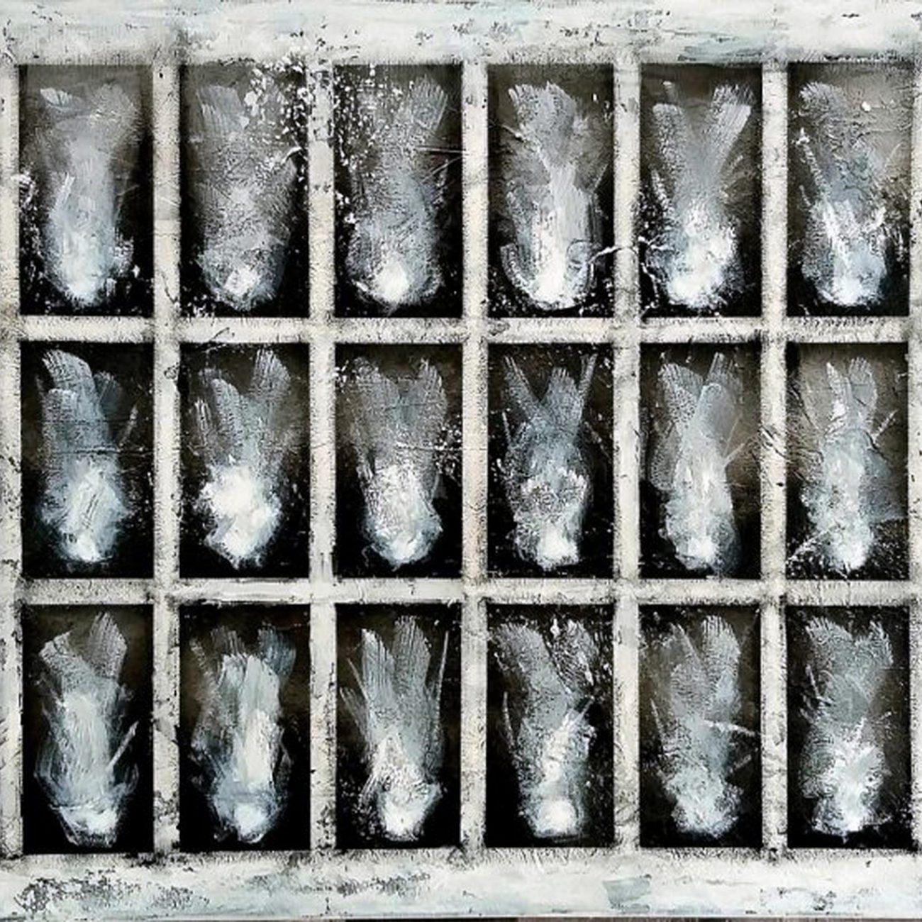 Demans No:11 Teknik:Tuval Üzeri Karışık Teknik(Akrilik ve Yağlı Boya)  Ölçü:70x100 cm