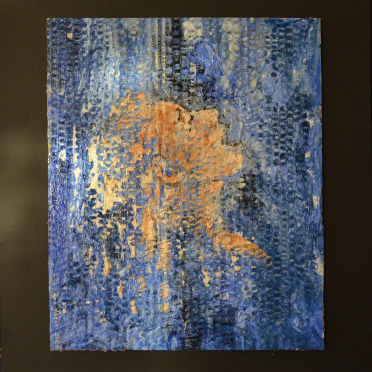 Boğulan Kadın  Teknik:Tuval Üzeri Akrilik Ölçü:32x26 cm