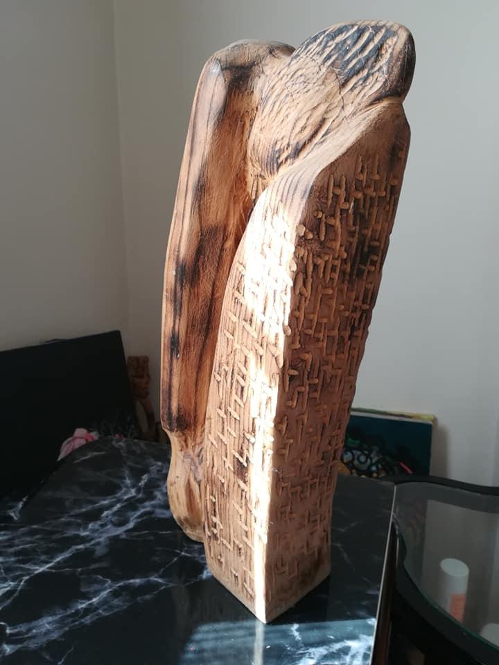 Ağlayan Venüs Şehit Annesi Teknik:Dişbudak Ölçü:50x20x10 cm  Fiyat:12000 TL