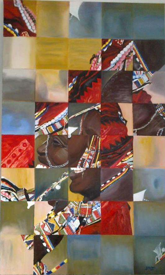 Portre  Teknik:tuval Üzeri Yağlı Boya Ölçü:60x100 cm Fiyat :3000 TL