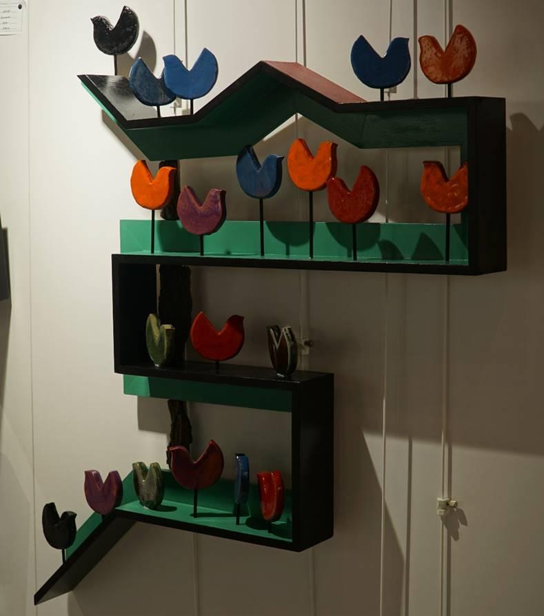 Kuşlar Teknik:Seramik Ölçü:140x100x20