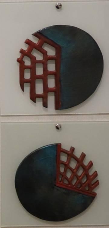Teknik:Seramik Ölçü:50x25x2 cm