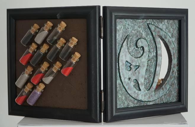 Zümrüdüanka'nın Doğuşu Teknik: Seramik Ölçü:60x30x3