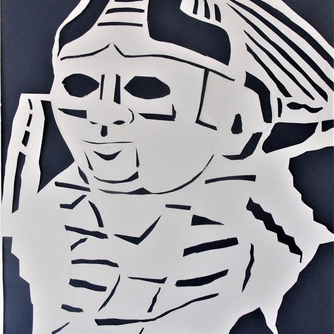 Hitit Sfenks Başı Teknik: Katı Sanatı Tekniği Ölçü: 27 x 35 cm Fiyatı: 500 TL