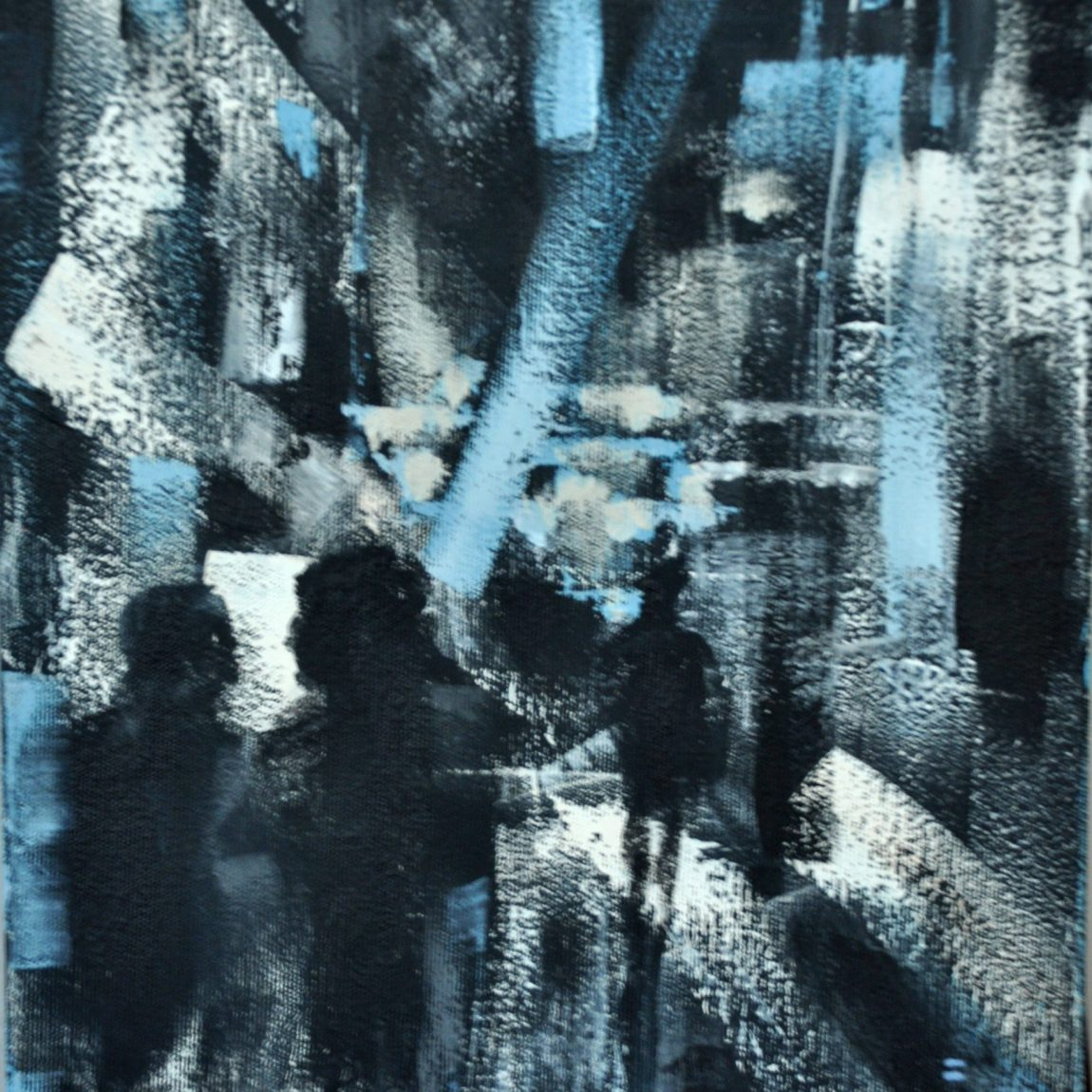 Şehir Işıkları  Teknik : Tuval Üzeri Akrilik Ölçü: 25 x 35 cm