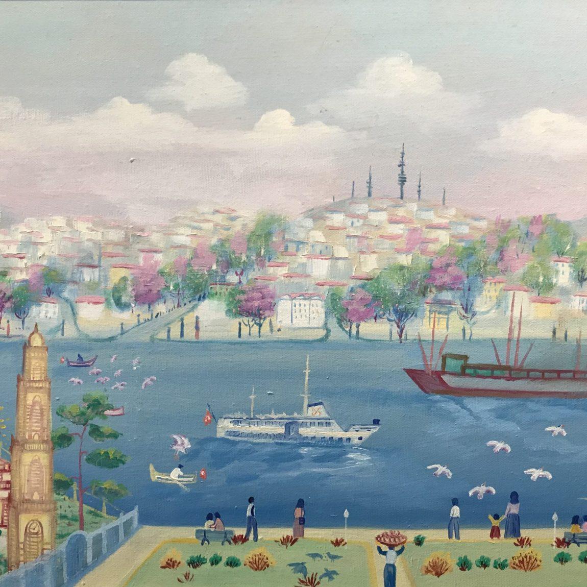 Mehmet Arpacık  Teknik : Tuval Üzeri Yağlı Boya  Ölçü: 60x40 cm  Fiyat : 5500 TL