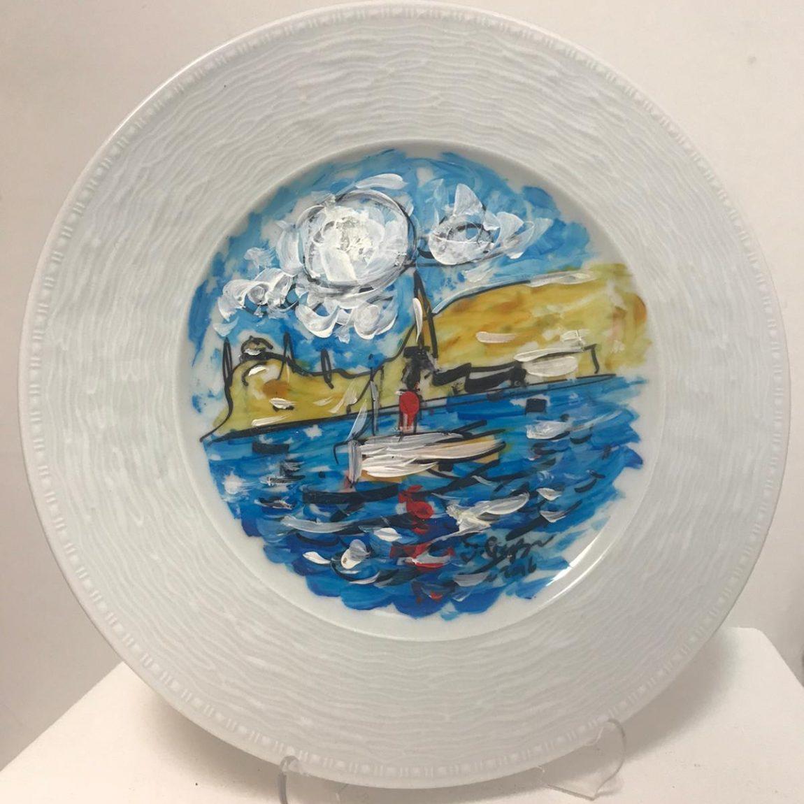 Ümit Gezgin Teknik:Porselen Üzeri Akrilik Fiyat:472 TL