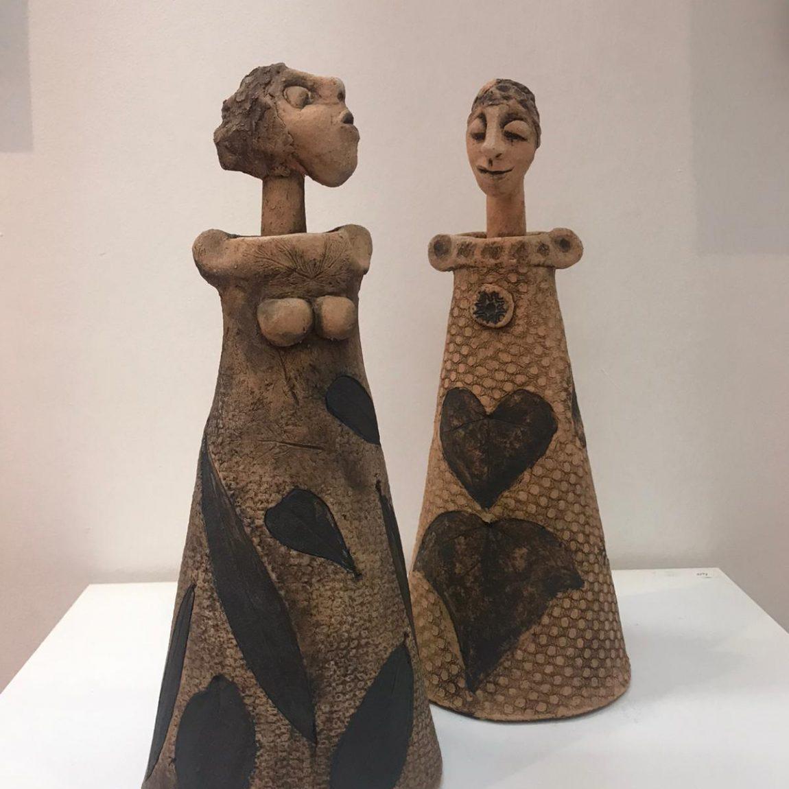 Ümit Z.Bayındır-Teknik:Seramik - heykel  Birim Fiyat:2.065 TL