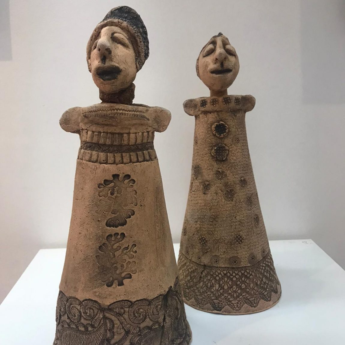 Ümit Z.BAYINDIR GEZGİN- Teknik:Seramik - heykel Birim Fiyat:2.065 TL