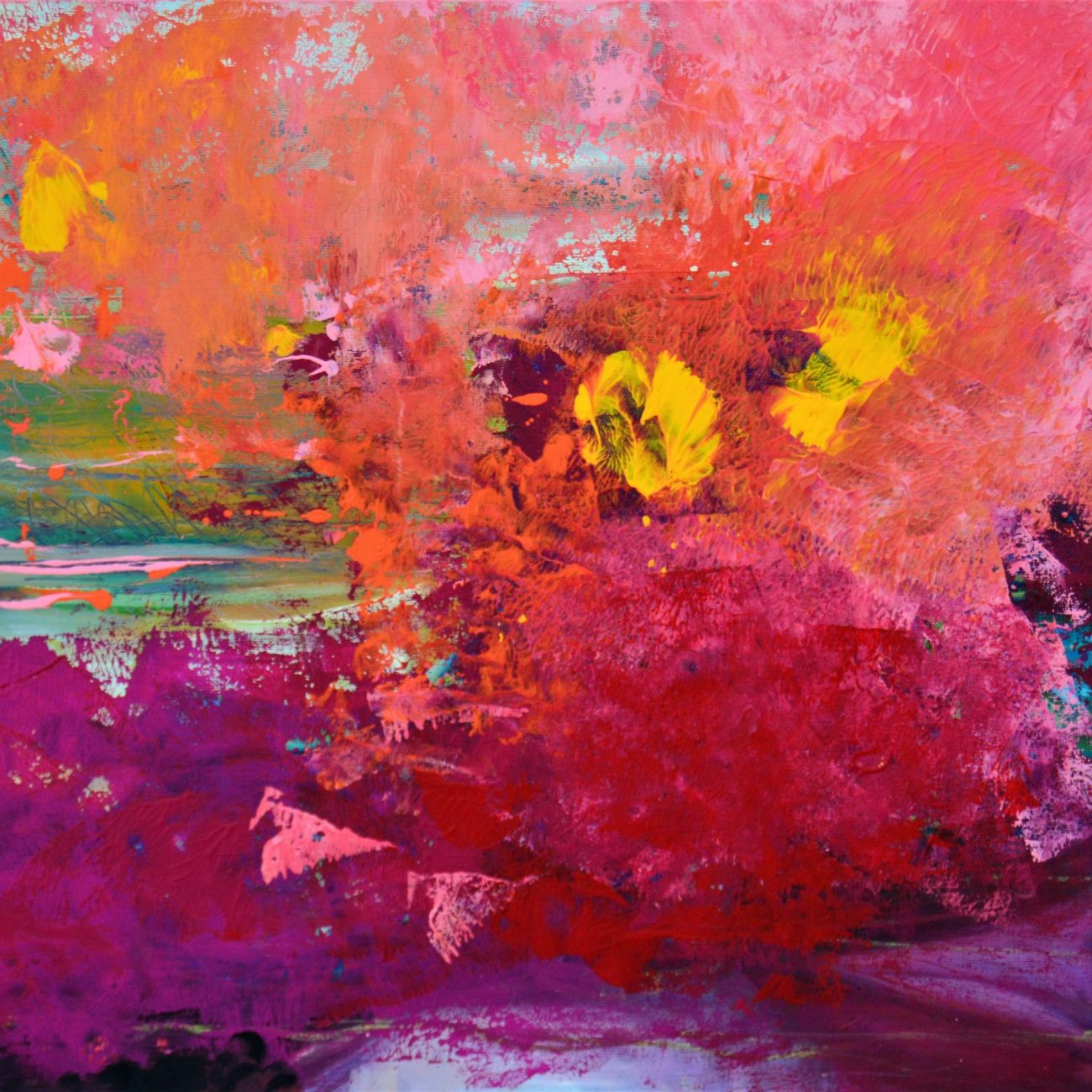 DÜŞ Teknik:Tuval Üzeri Akrilik / Yağlı Boya Ölçü: 50 x 70 cm