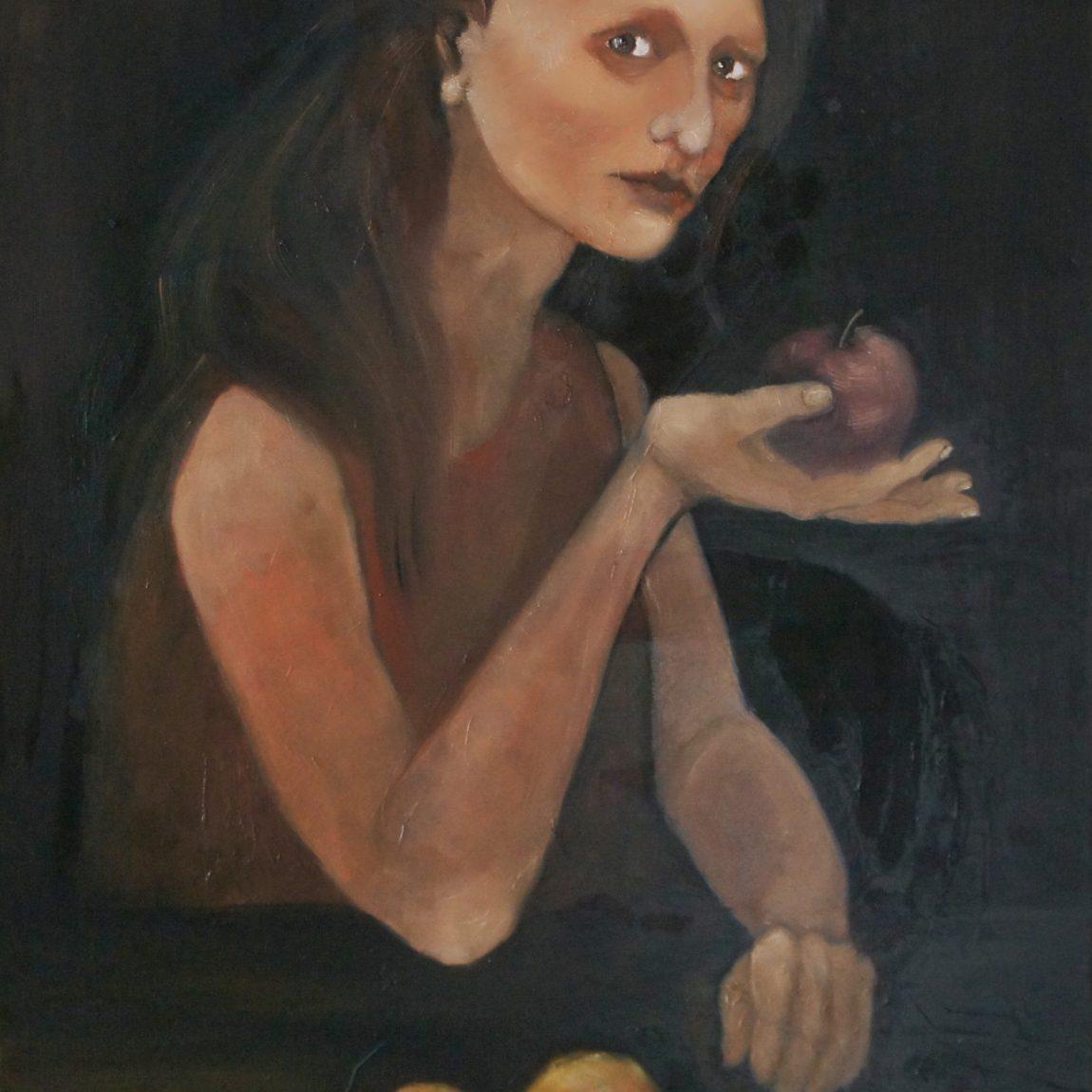 PINAR TÜRE GÜRSOY -  Eser Adı: Lilith  Teknik: Tuval Üzeri Yağlı Boya  Ölçü: 70 x 100 cm  Fiyat : 5.310 TL